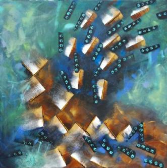 Seaweed by Lykke Mørch | maleri
