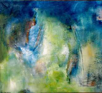 'Wonderland'  by Lone Lindorff | maleri