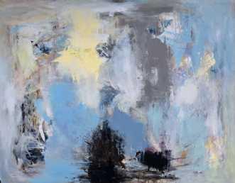 Nu og her by Susanne Gemmer | maleri