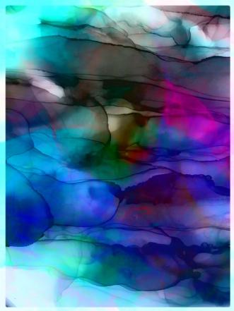 Waves by Jeanette Innala | maleri