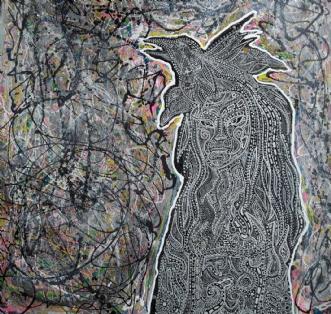 Vølve  by Claudia Pavia | maleri