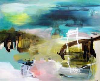 The Farm by Kirsten Overgaard | maleri