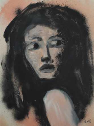 Paranoia by Linda Syvertsen   maleri