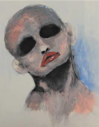 Glammed up by Linda Syvertsen   maleri