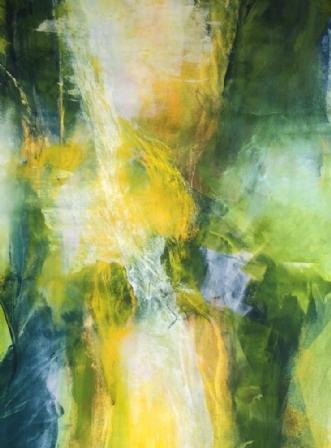 Green dreams 2 by Else Sofie Munkholm Bager | tegning