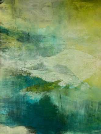 Grøn magi 2 by Else Sofie Munkholm Bager | unikaramme