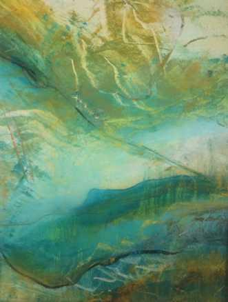 Grøn magi 4 by Else Sofie Munkholm Bager | unikaramme