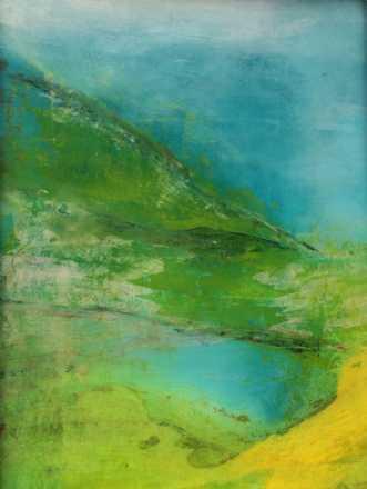 Grøn magi 6 by Else Sofie Munkholm Bager | unikaramme