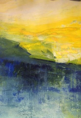 Ved solopgang by Else Sofie Munkholm Bager   tegning
