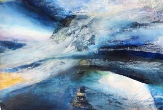 Untrodden land by Else Sofie Munkholm Bager | tegning