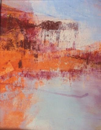 Landscape rose 2 by Else Sofie Munkholm Bager | tegning