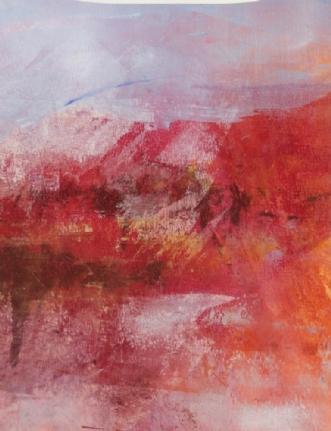 landscape rose by Else Sofie Munkholm Bager | tegning