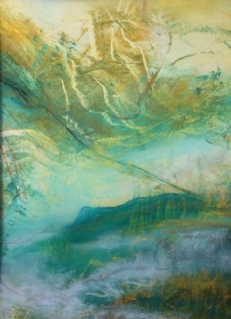 Grøn magi 4 by Else Sofie Munkholm Bager | tegning
