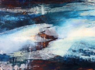 Untrodden land 2 by Else Sofie Munkholm Bager | tegning