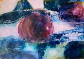 Earth power 2 by Else Sofie Munkholm Bager | tegning