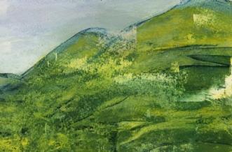 Azoriske landskaber.. by Else Sofie Munkholm Bager | tegning