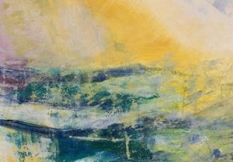 Gylden august 2 by Else Sofie Munkholm Bager | tegning