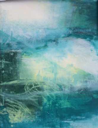 Grøn magi 3 by Else Sofie Munkholm Bager | tegning