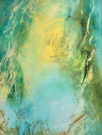Grøn magi 1 by Else Sofie Munkholm Bager | tegning
