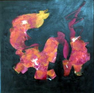Little Birdie by Mia Glarborg | maleri
