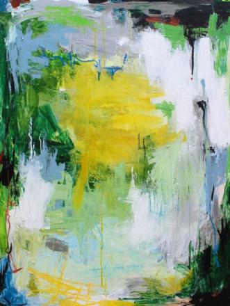 Uden titel by Bettina Holst | maleri