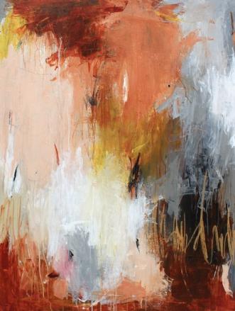 Sidder kronen lige by Bettina Holst | maleri