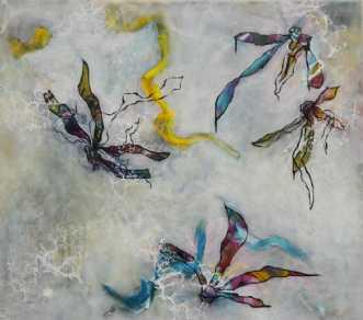 Fly in each directi.. by Eva Brokholm | maleri