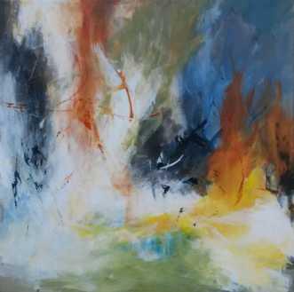 Ingen by Eva Brokholm | maleri