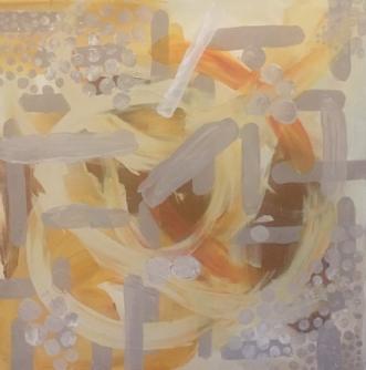 Fall by Lone Lopez Andersen   maleri