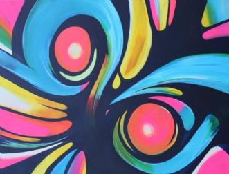 Urban owl by Klaus Nordhoek | maleri