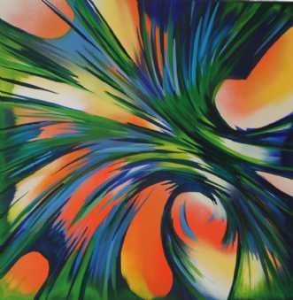 Jungle Boogie by Klaus Nordhoek | maleri