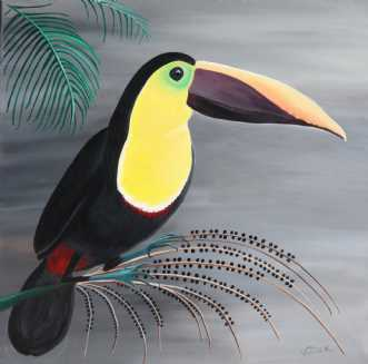 Toucan by Valeria Krynetskaya | maleri