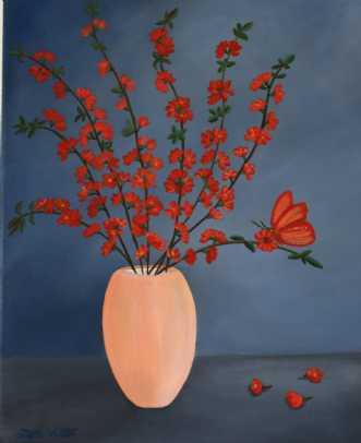 Spring Blossom by Valeria Krynetskaya | maleri