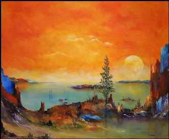 Reserveret. MIt sti.. by Kurt Olsson | maleri