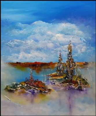 En dag med dig. by Kurt Olsson | maleri