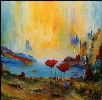 Mit drømme univers by Kurt Olsson | maleri