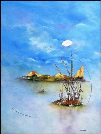 Tid til tanker og d.. by Kurt Olsson | maleri
