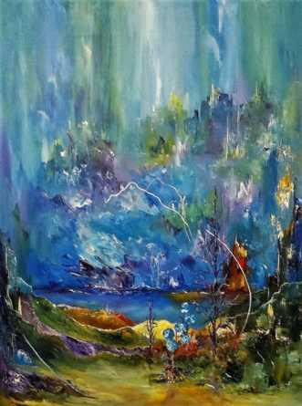 En dag i tiden. by Kurt Olsson | maleri