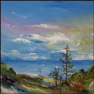Østkyststemning by Kurt Olsson | maleri