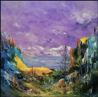 Jeg ville ønske by Kurt Olsson | maleri