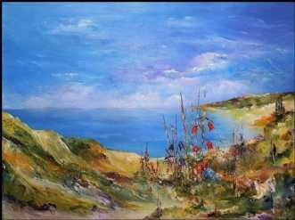 Vestskyststemning. by Kurt Olsson | maleri