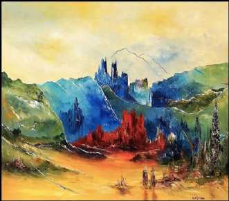 Lad en ny dag begyn.. by Kurt Olsson | maleri