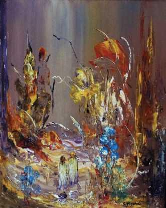 Min hjertevarme til.. by Kurt Olsson | maleri