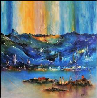 Kærlighedens veje by Kurt Olsson | maleri