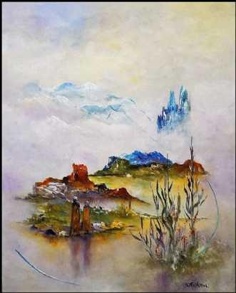 Evig lykke by Kurt Olsson | maleri