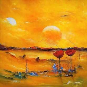 En dag i mit liv by Kurt Olsson | maleri
