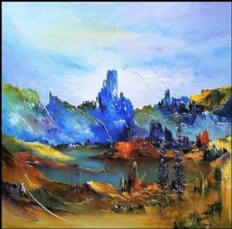 Lad os drømme by Kurt Olsson | maleri