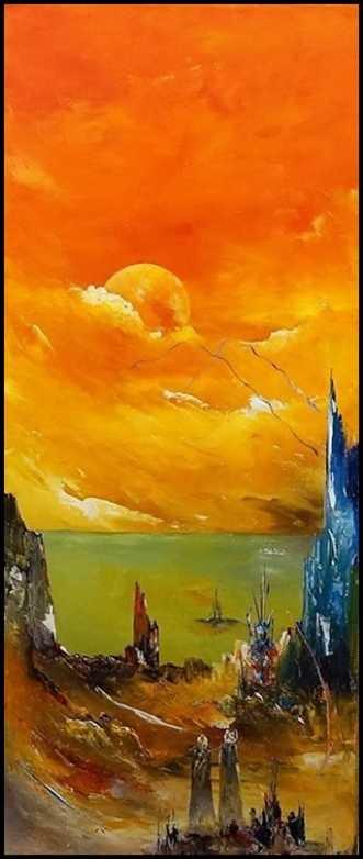 Sensommer dage by Kurt Olsson | maleri