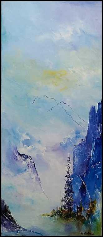 Mod varmere tider by Kurt Olsson | maleri