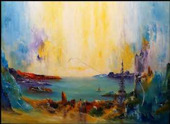 Min verden med dig. by Kurt Olsson | maleri
